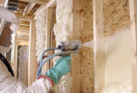 聚氨酯墙体保温施工案例